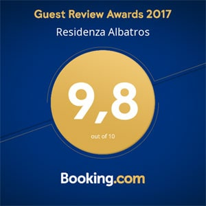 Guest Review Awards 9,8 out of 10 - Booking.com